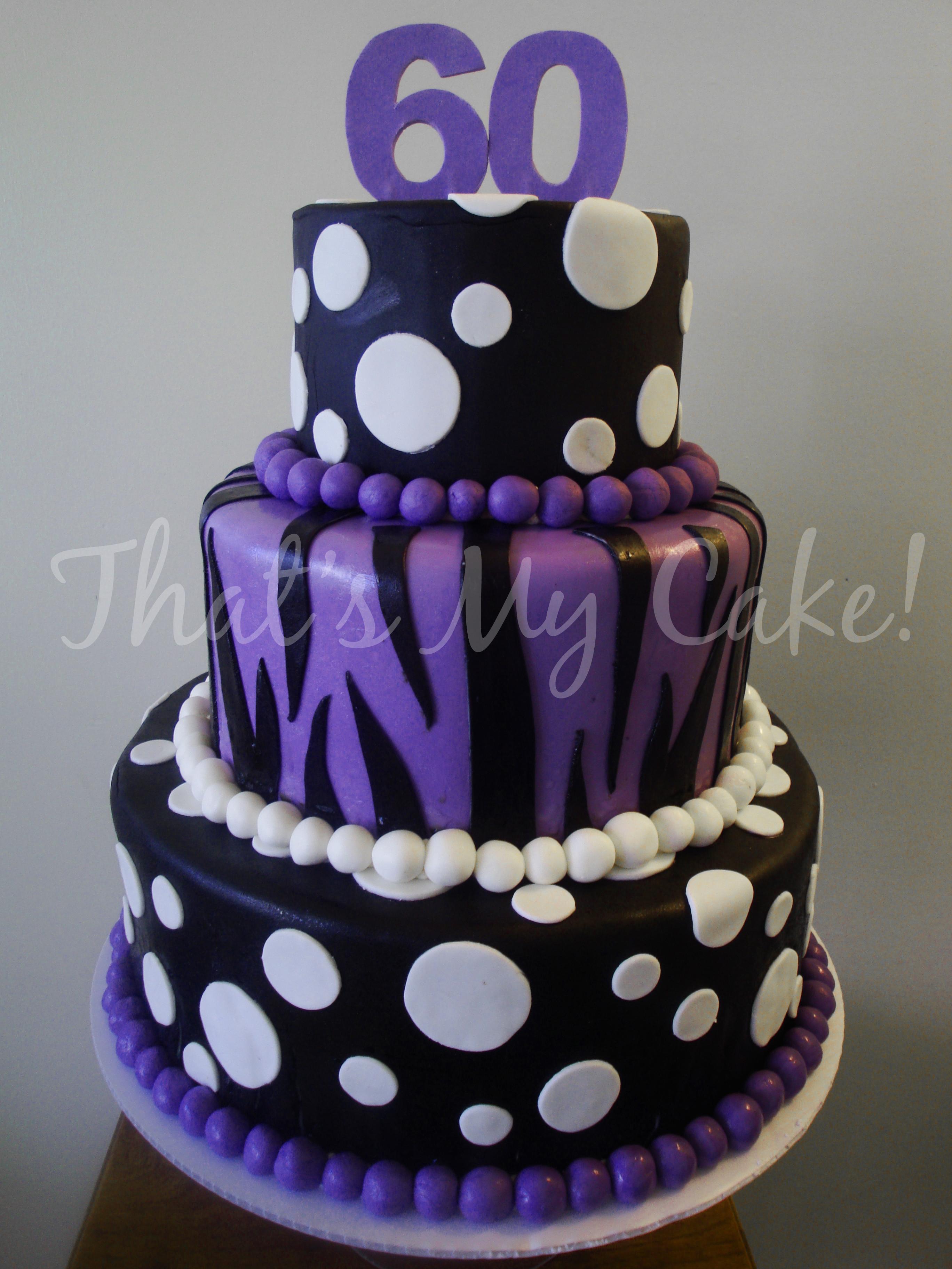 Garden Themed Th Birthday Cake