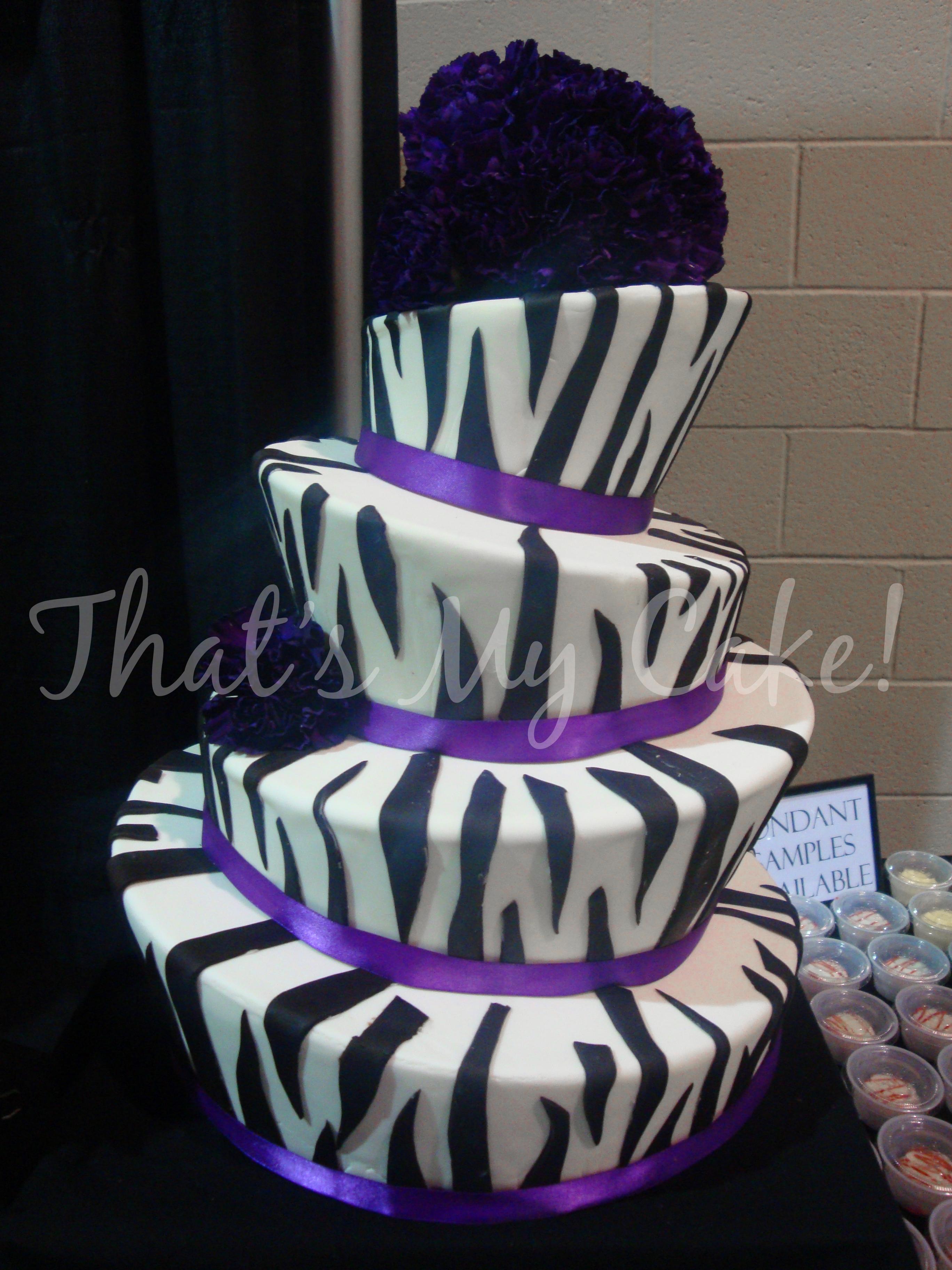 Cakes, Cake Wedding, Zebra Print Cakes, Amazing Cakes, Beautiful Cakes ...