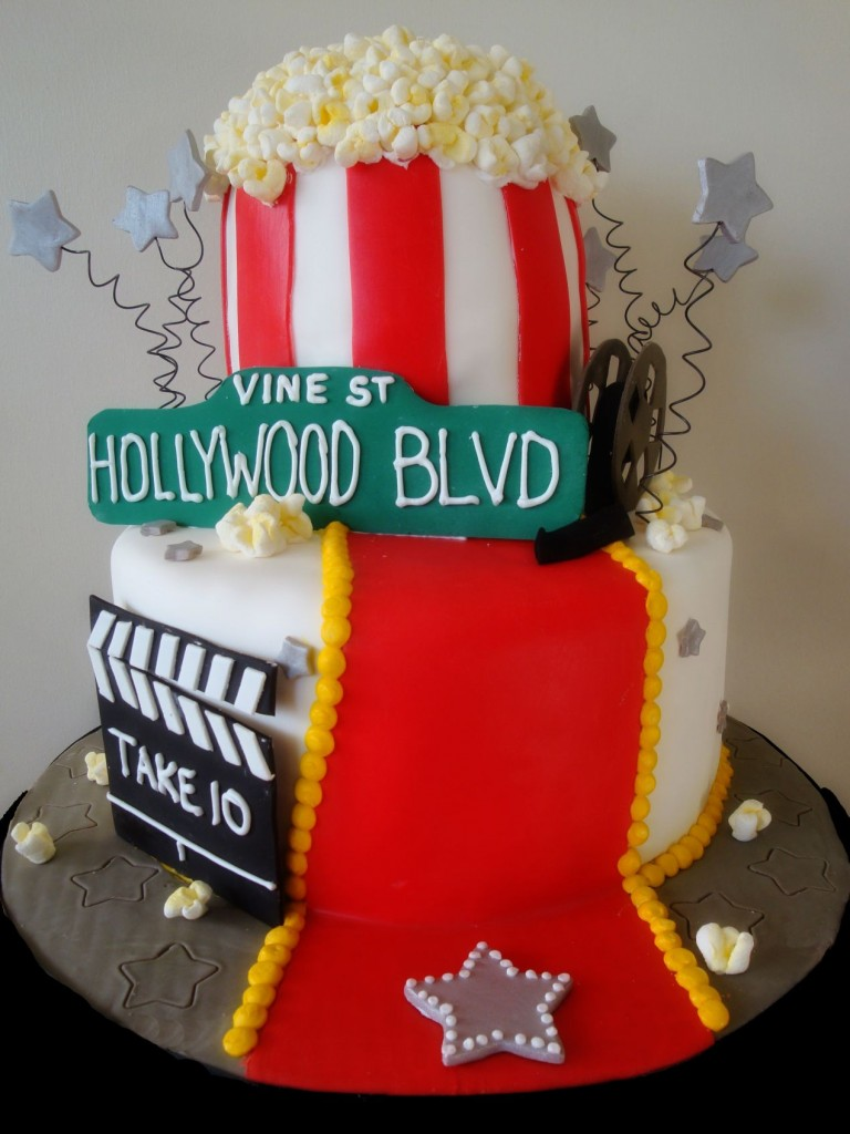Birthday Cake Party Images : Hollywood Birthday Cake That s My Cake!
