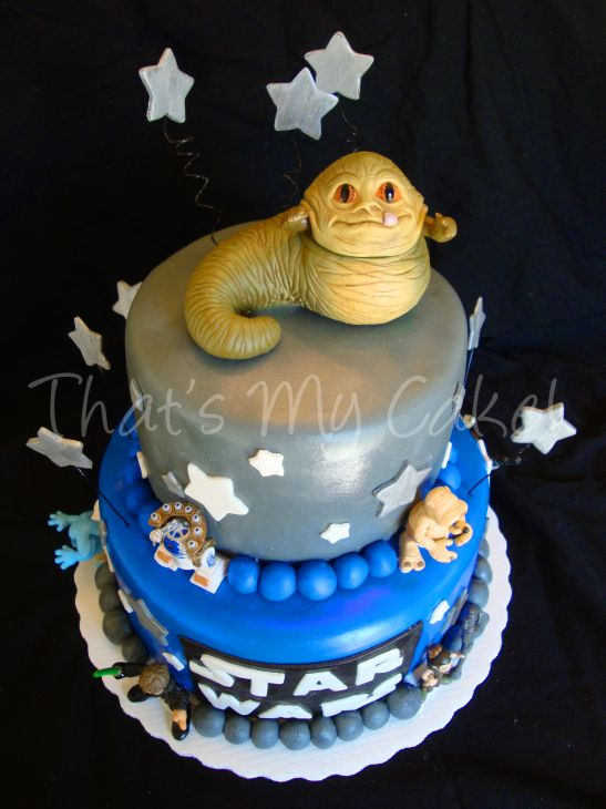 Star Wars cake was a short notice order for a little boys birthday ...